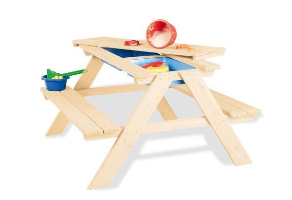 Kindersitzgarnitur und Matschküche in Einem
