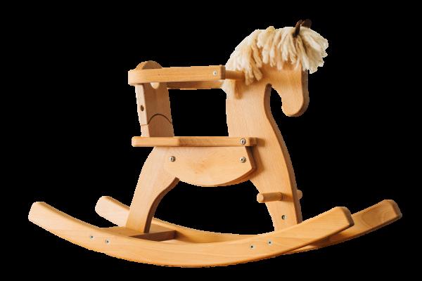 Holzschaukelpferd Emmy Helga Kreft, ab 12 Monaten.