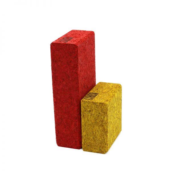 KORXX Korkbausteine Cuboid Mix Color, 19 Bauklötze.