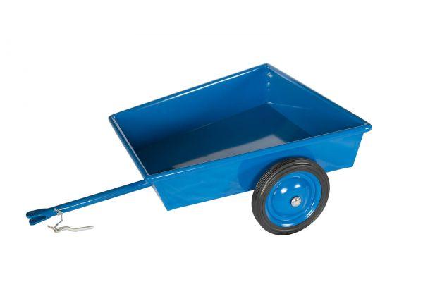 Anhänger Metall für Dreirad, blau, Lautenbach