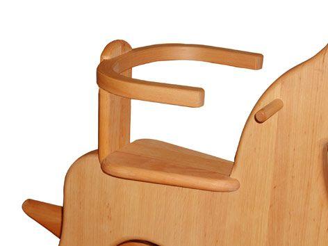 Sitzreifen für Holzschaukelpferd Fohlen, Schöllner Holzspielzeug.