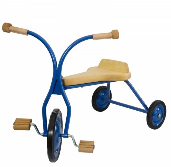 Lautenbach Dreirad, groß, Sitzhöhe 32 cm, Holzsitz massiv