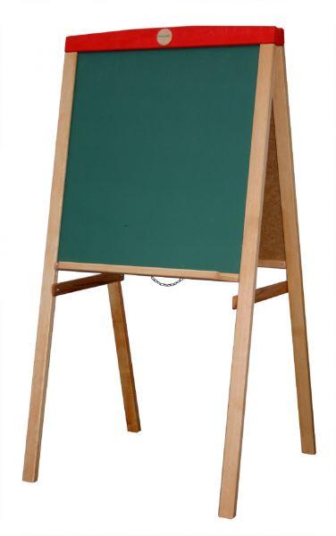 Schöllner Doppel Standtafel, Holz, beidseitig bespielbar