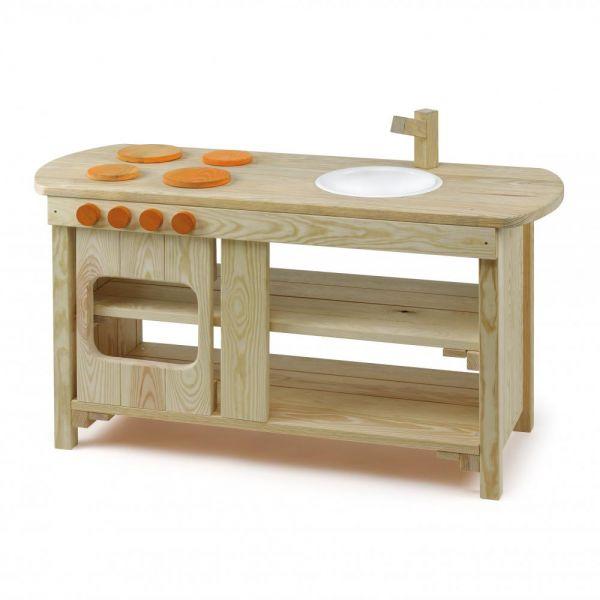 Erzi Spielküche Outdoor Holz