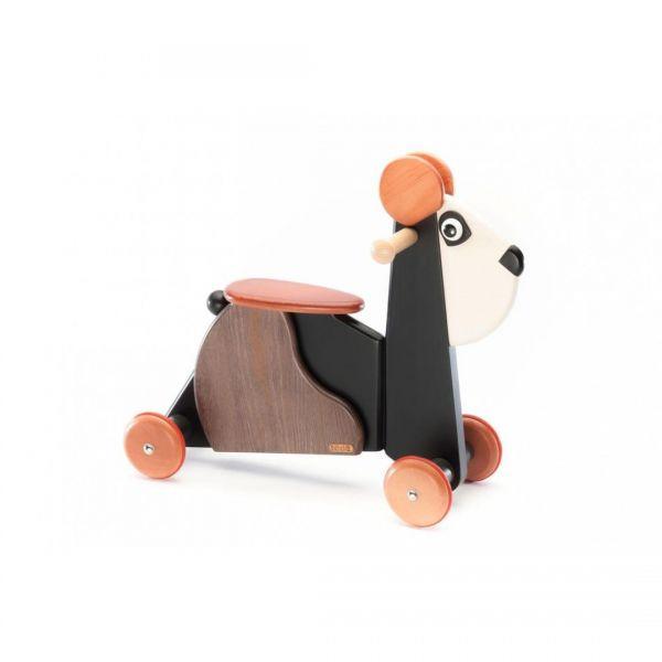 Tedefamily Babyrutscher Panda Emil, Massivholz