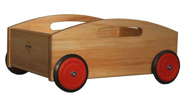 Bollerwagen, Holz, Schöllner Holzspielzeug.