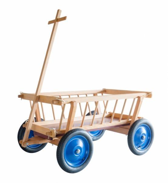 Leiterwagen groß, aus Holz, Lautenbach.