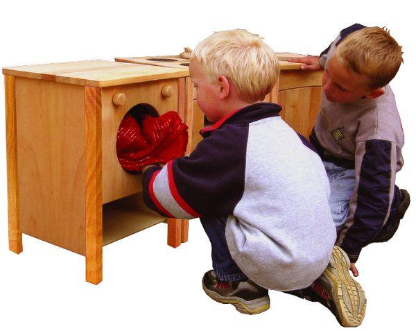 Waschmaschine für Schöllner Holz Kinderküche Singel