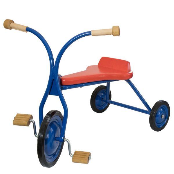 Lautenbach Dreirad, groß Holzsitz rot, Sitzhöhe 32 cm