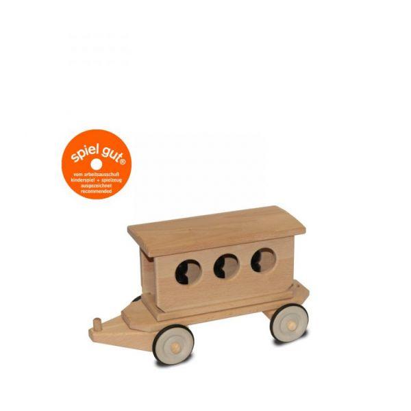 Dynamiko Holzzug Lotte Anhänger Personenwagen