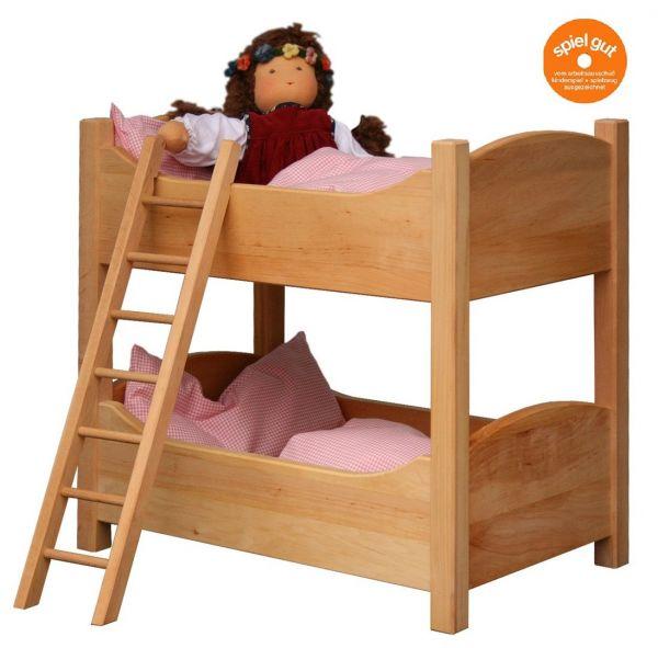 Puppenstockbett mit Leiter
